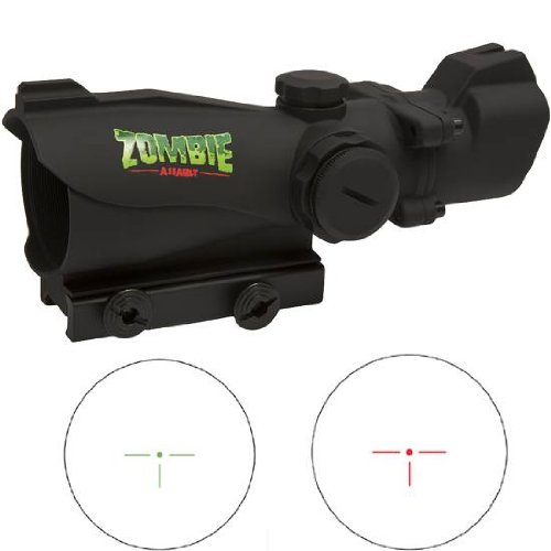 Bushnell 1Xmp Zombie Red/Green T-Dot Matte With Free Purchasecorner Microfiber Cleaning Cloth.