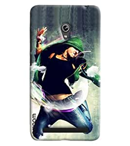 Omnam Boy Doing Free Style Dance Printed Designer Back Cover Case For Asus Zenfone 6