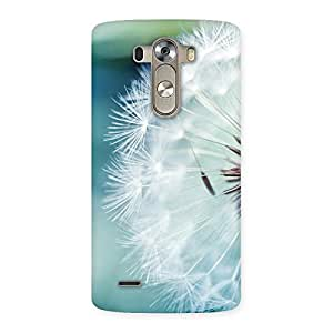 Premium White Floral Back Case Cover for LG G3