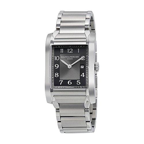 Baume and Mercier Black Dial Stainless Steel Ladies Watch 10021
