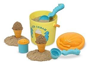Melissa & Doug Sunny Patch Speck Seahorse Sand Ice Cream Set