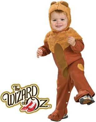 New Wizard of Oz Deluxe Baby Lion Costume Newborn 0-6m