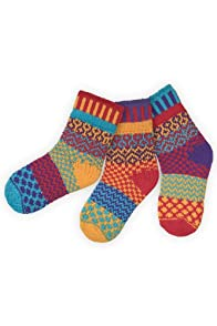 Solmate Firefly Kids Mismatched USA made Socks