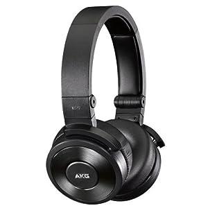 K619 Premium DJ Headphones with Mic (Black)