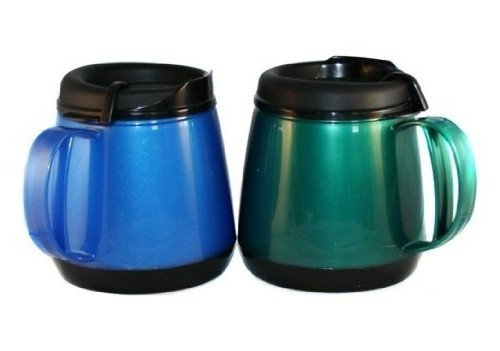 New Two 20oz Foam Insulated Wide Body Thermoserv Mugs Free