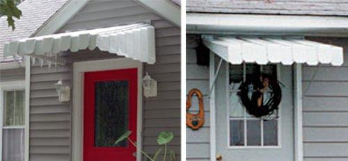 Aluma Vent Aluminum Door Canopies