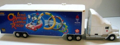 Izzy's Olympic Games 1996 Toy Car Carrier #4