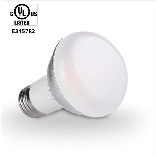 Golden Sun Ul Certified 5-Watt R20/Br20 Led Flood Light Bulb, Ceramic Cob, 50-Watt Equivalent,470 Lumen, Dimmable, E27 Medium Base, Ul Listed, 3000K Soft White