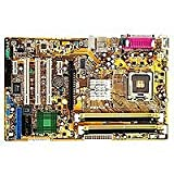 Asus P5PL2 Motherboard - Placa base (Dual Channel DDRII 533/400, Intel, Socket 775, Pentium 4, 800/533 MHz, 5.1 Channel & SoundMAX Digital Audio)