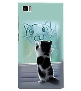 PRINTSWAG CAT Designer Back Cover Case for XIAOMI REDMI MI3