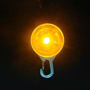 Médaille LED Lumineux Pendentif de Collier pour Chien Chat Couleur Au Choix NEW