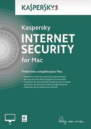 Kaspersky Internet Security pour Mac - Monoposte - 1 an [Téléchargement]