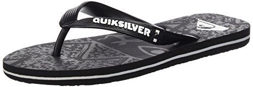 Quiksilver Uomo Molokai Ghetto sandali nero Size: 44