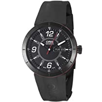 Oris TT1 Day Date Black Dial Automatic Mens Watch 735-7651-4764RS