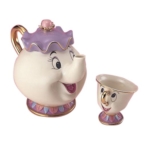 Chip-Kun And Disney Tea Set Pot Mrs. (Japan Import)