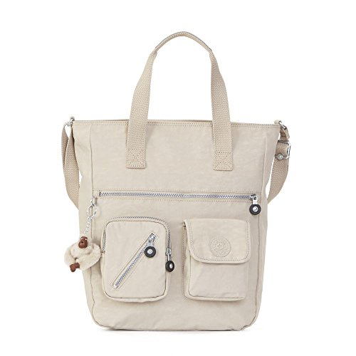 Kipling Women's Johanna Tote Bag One Size Sand Castle