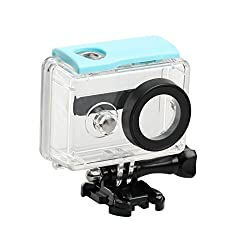 Waterproof case for Xiaomi Xiaoyi Yi Sports action camera 40 meter underwater | Blue color