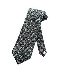 Museum Artifacts Mens Egyptain Hieroglyphics Necktie - Black - One Size Neck Tie