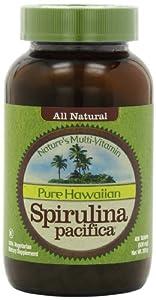 Hawaiian Spirulina Pacifica 500 mg 400 Tabs