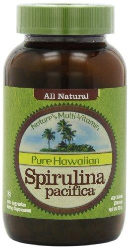 Nutrex Hawaii Pure Hawaiian Spirulina Pacifica -- 500 mg - 400 Tablets