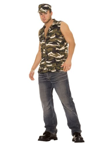 2 pc Army Man Costume from Silvermoon