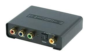 König - Conversor de vídeo compuesto y audio digital a