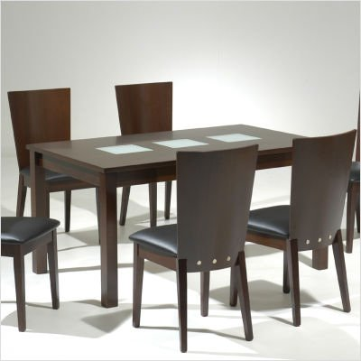 Buy Low Price New Spec Inc Cafe 46 5 Piece Modern Perfection Dining Table Set