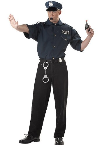 Cop Set Costume (Men's Adult Costume)