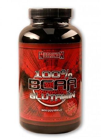 Nutrinax BCAA/Glutamin XXL Kapseln - 1200mg pro Kapsel, Dose