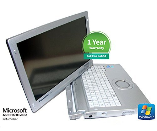 Panasonic Toughbook CF-C1 Laptop i5 2.5Ghz 4GB Ram 320GB SATA Windows 7 P with Webcam MS Office 30 Day Free Trial & Kaspersky Anti-Virus