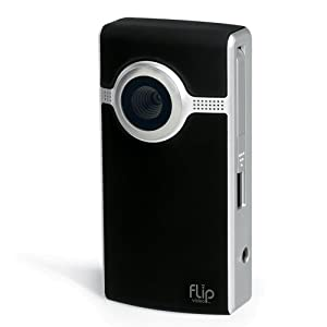 Flip Ultra Camcorder 2nd Generation, 120 Minutes (Black)