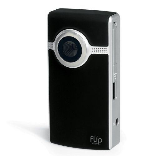 Flip Video Ultra Camcorder 2nd Generation With 4GB Memory - Black