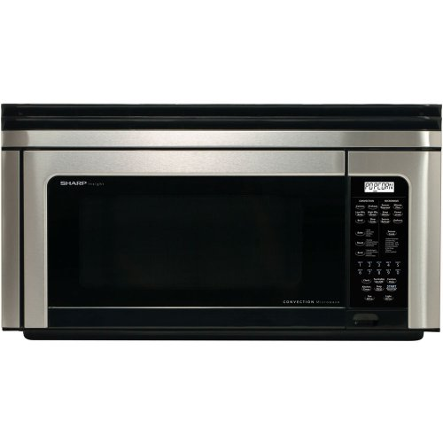 1.1 Cu. Ft. 850W Over The Range Convection Microwave - Stainless Steel With Black Glass Window
