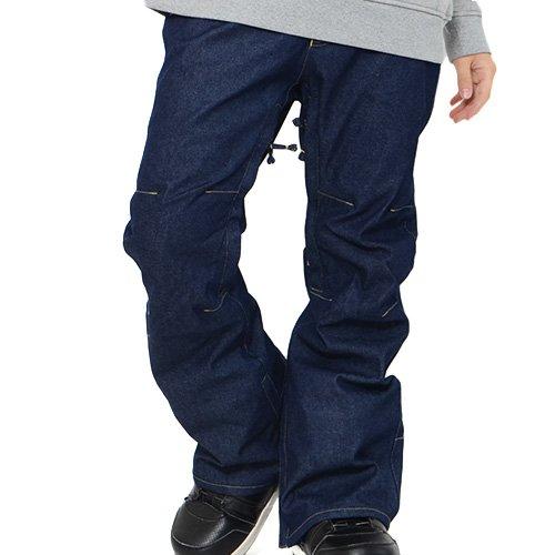 AA HARDWEAR(ダブルエー ハードウェア) スノーボード パンツ ハードウェア BUZZ PANTS パンツ REGULAR FIT スノボ コレクション リミテッド 限定 デニム メンズ Sサイズ DENIM aa-buzz-pants-S-72115340-DENIM