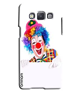 Omnam Circus Joker Laughing Printed Designer Back Cover Case For Samsung Galaxy A3