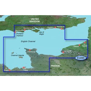 GARMIN BLUECHART G2 HXEU456S THE SOLENT & CHANNEL ISLANDS