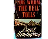 Image of FOR WHOM THE BELL TOLLS ~1940 BOOK CLUB EDITION