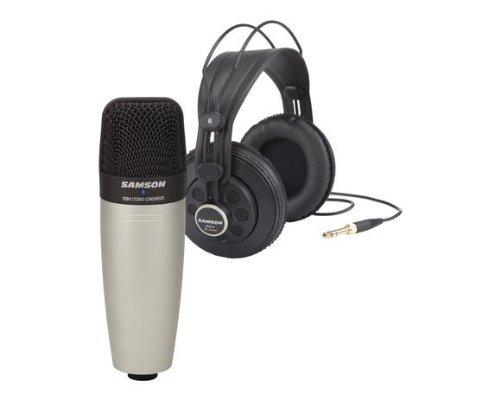 Samson Sac01850 C01 Condenser Mic With Sr850 Headphones