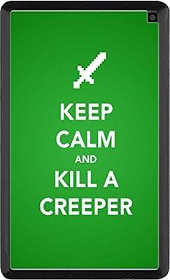 Keep Calm Kill Creepers Art Kindle Fire HD 6 Vinyl Decal Sticker Skin by MWCustoms