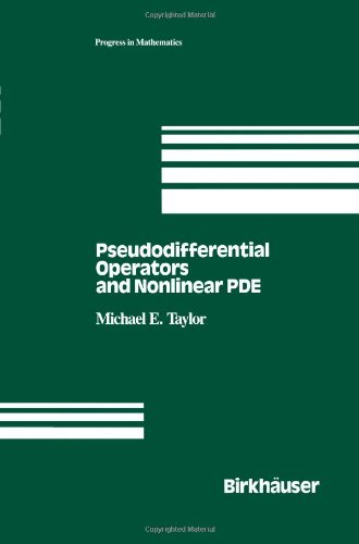 Pseudodifferential Operators and Nonlinear PDE