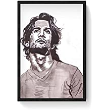 PosterGuy Sushant Singh Rajput Bollywood Painting Bollywood, Famous Celebrities, Paintings, Bollywood Sketch,...