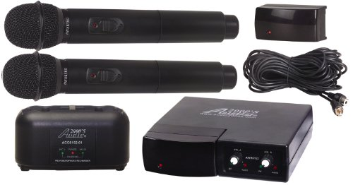 Audio2000'S Awm6152 Wireless Microphone System