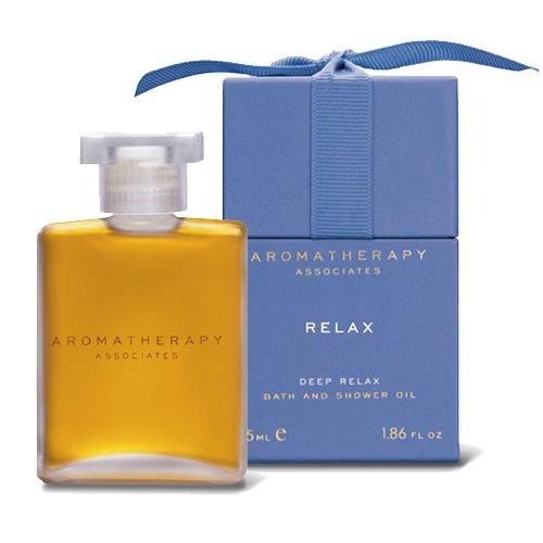 Aromatherapy Associates Deep Relax Bath & Shower Oil-1.86 oz-Camomile-1.86 oz. Deep Calm Bath