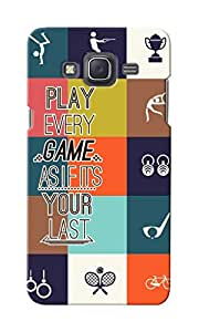 KnapCase Play Games Designer 3D Printed Case Cover For Samsung Galaxy J5