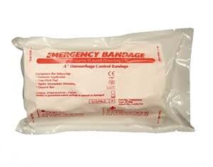 Tactical Trauma Dressing, Israeli Bandage, 4 Inch