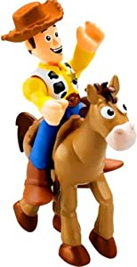 Fisher Price Imaginext Disney / Pixar Toy Story 3 Figure Woody with Bullseye
