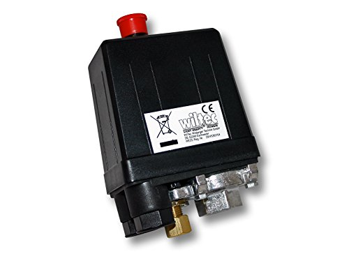 Druckschalter-230V-fr-Kompressoren-10A-3-12bar-Luftkompressoren-Hauswasserwerke