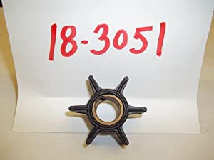 Mallory Marine Pump Impeller 18-3051