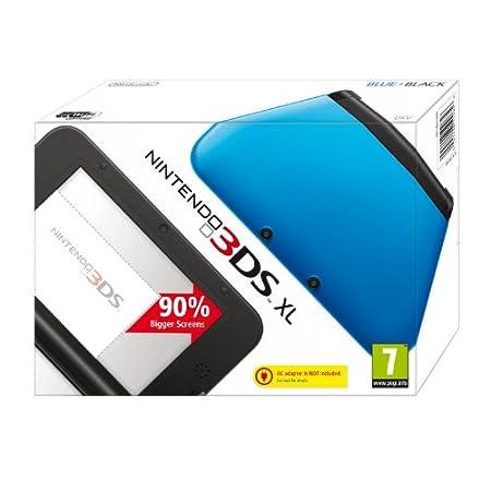 Nintendo Handheld Console 3DS XL - Blue/Black (Nintendo 3DS)