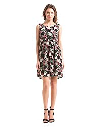Prym Women's A Line Dress (1011509101_Navy Mix_X-Large)